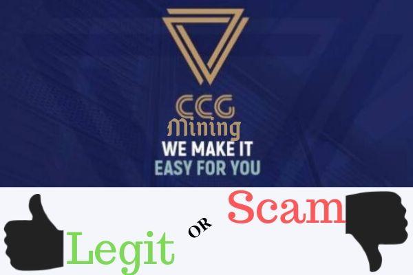 CCG MIning Scam or Legit