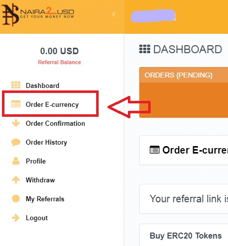 click Order e-currency