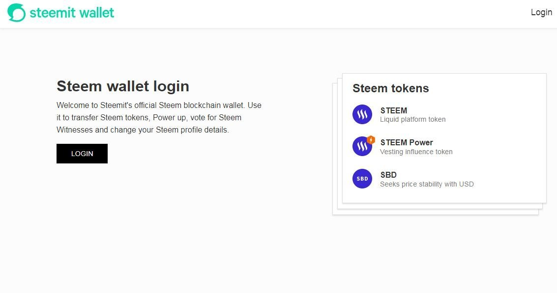 steemit wallet