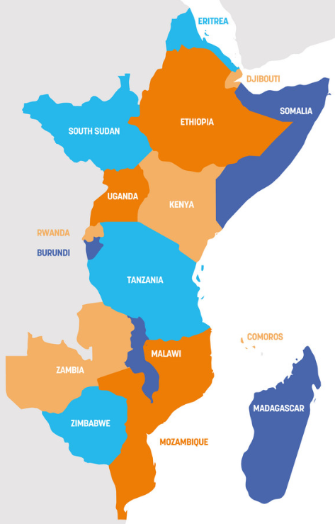 bitcoin friendly countries in east africa