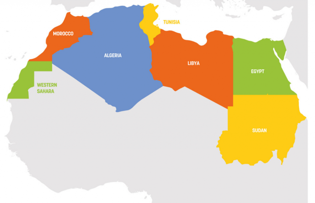Bitcoin in North Africa